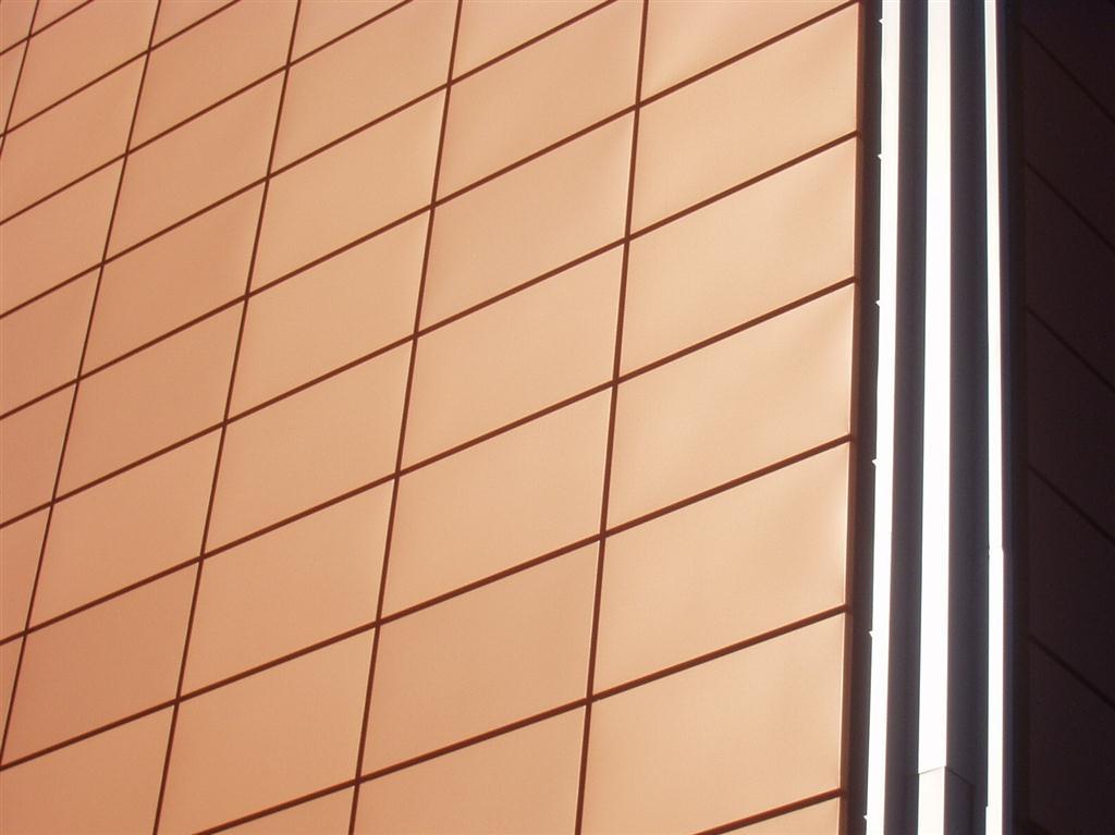 panel fachada cassette incoperfil cobre - Revestimientos De Fachadas