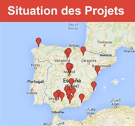 situation projets padel