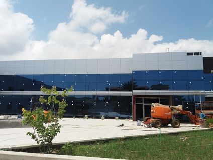 INCO 70.4 Composite Slab for the new Mama Bang Hospital in Bata- Equatorial Guinea